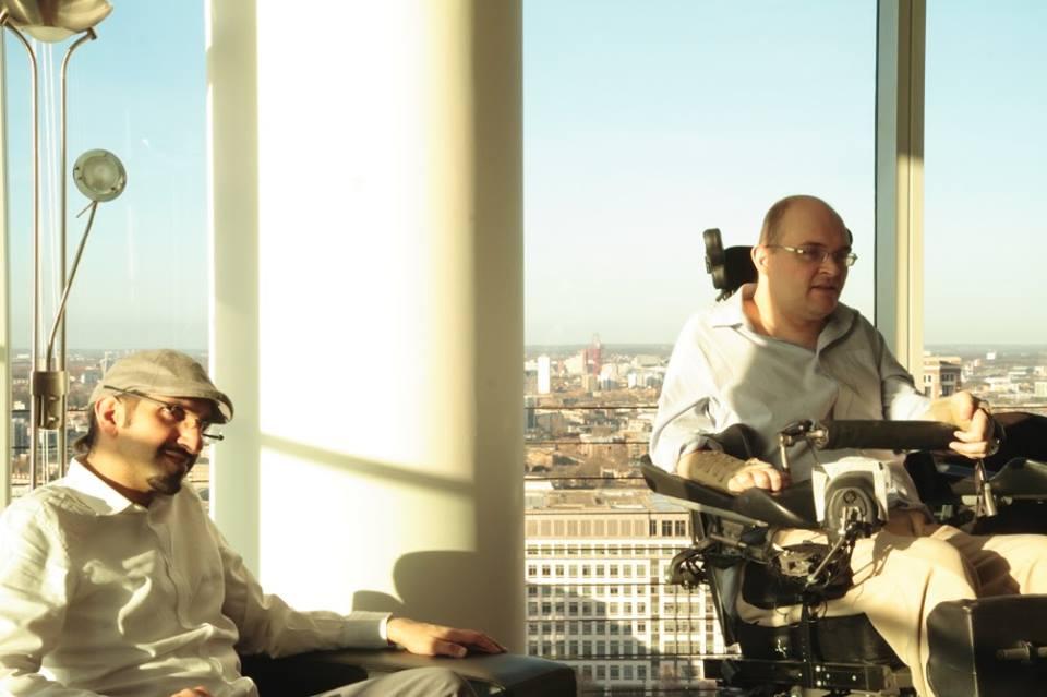 Sultan Sooud Al Qassemi and Peter Apps, London, February 2015