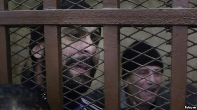 Two of the 26 men arrested and then acquitted in the bathhouse raids, Cairo, January 12 2015
