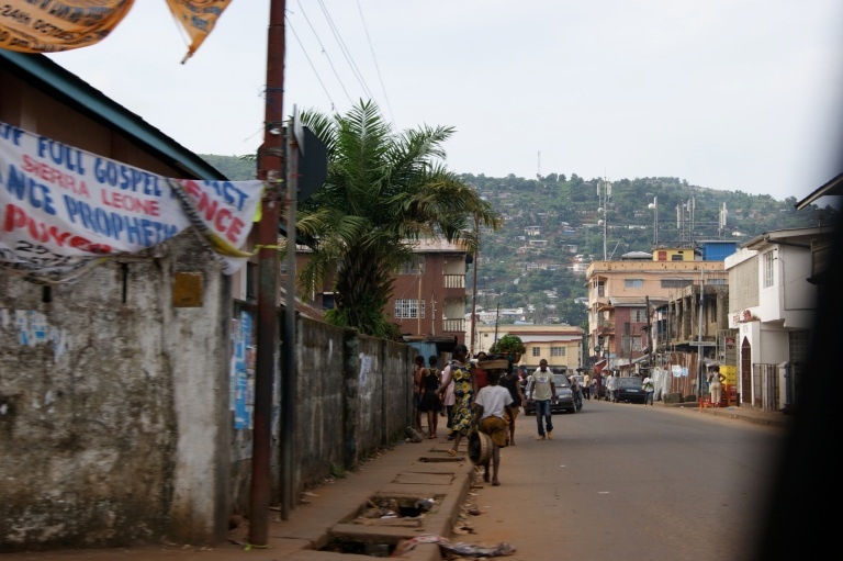 A Freetown street