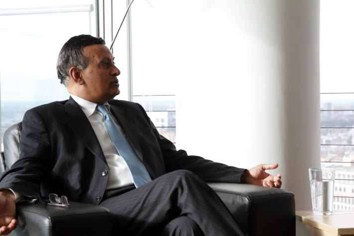 Hussain Haqqani speaking at a PS21 discussion in London, March 5, 2015
