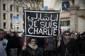 Tours rally in support of the victims of the 2015 Charlie Hebdo shooting