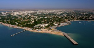 Yevtaporia, Crimea: a strategically-important Russian port on the Black Sea
