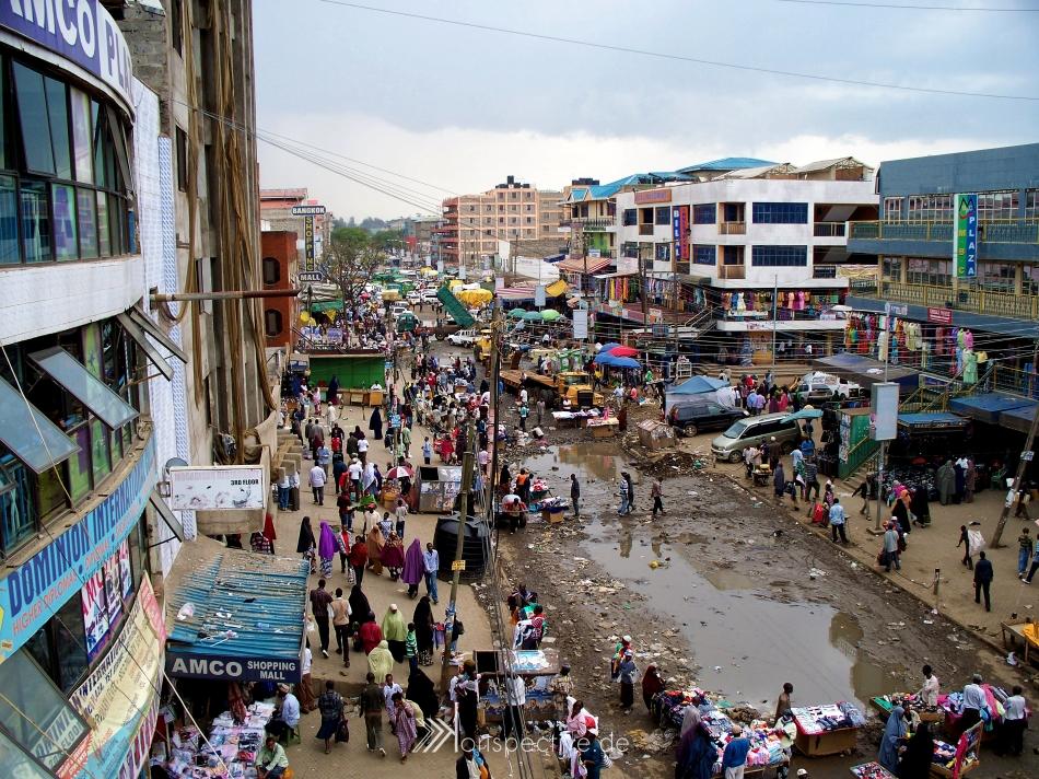 Garissa Market, Nairobi, Kenya.