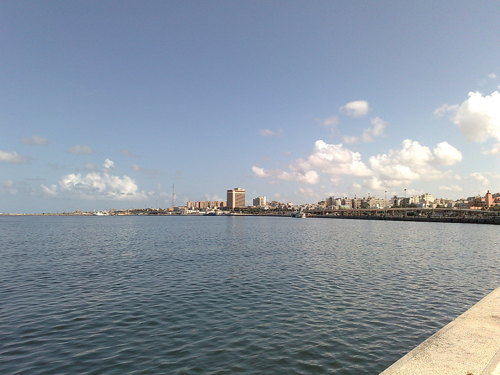 Tripoli, Libya's capital city, sits on the Mediterranean coast.