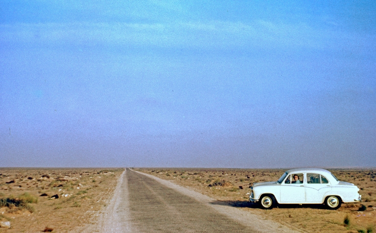 The road to Sirte, Libya (Michael Jefferies).