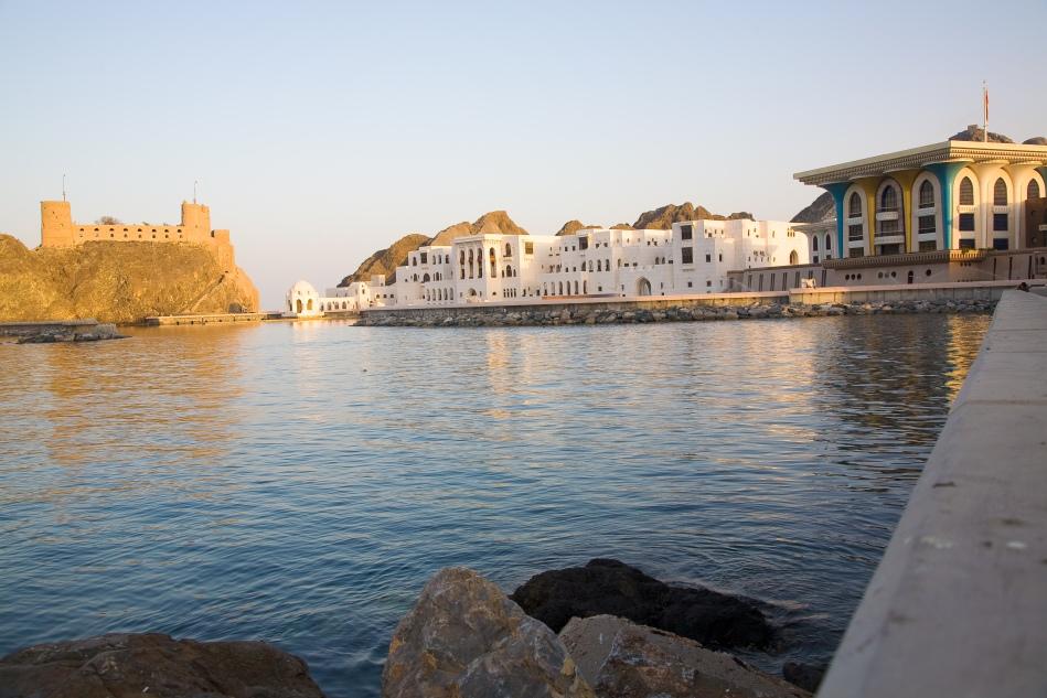 Fort al-Jalali, Muscat, Oman.