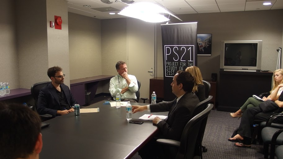 Panelists discuss the future of US-Israel relations after the Iran deal at a PS21 seminar, August 19 2015.