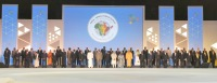 The Prime Minister, Shri Narendra Modi and the Leaders of African nations in the Family Photograph, at the inaugural ceremony of the 3rd India Africa Forum Summit 2015, in New Delhi on October 29, 2015.