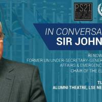 London Event 16 April - In Conversation with Sir John Holmes